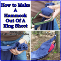How to Make A Hammock Out Of A King Sheet