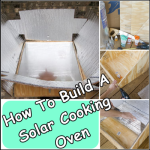 How To Build A Solar Cooking Oven
