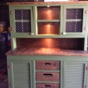 Build a Country China Cabinet from Used Furniture