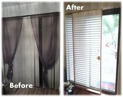 Rolling Blinds For The Patio Door - Patio door blind