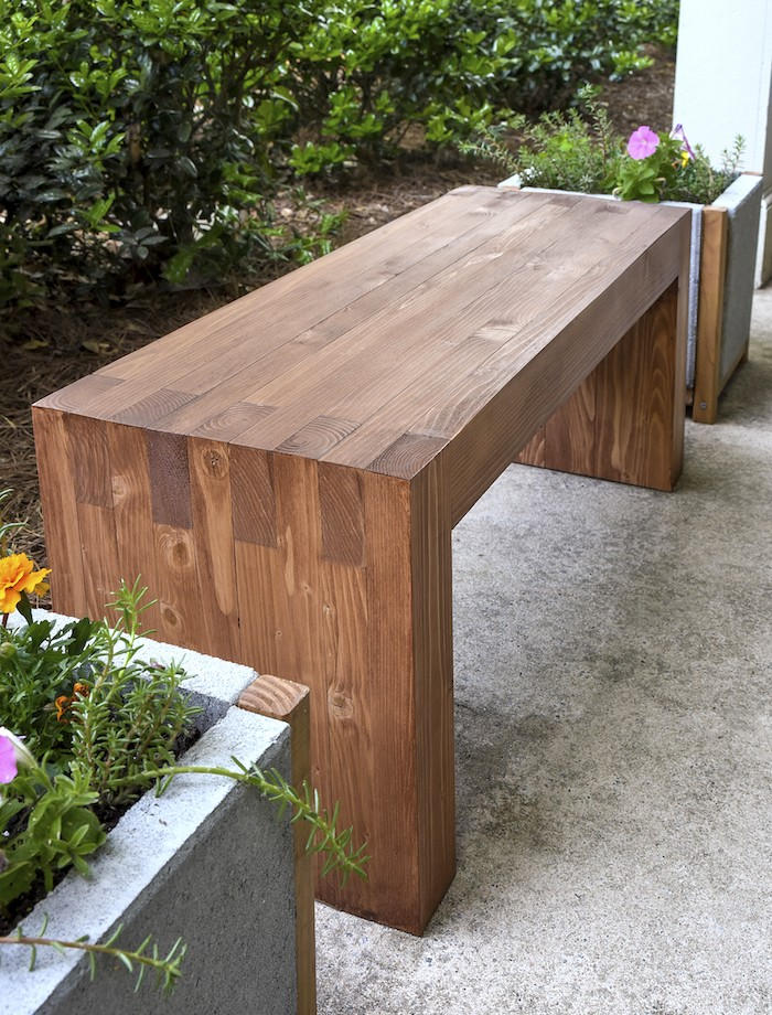diy outdoor bench or outdoor coffee table | the homestead survival