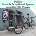 Build a Portable Party Sound System on a Bike DIY Project