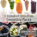 MAKE AHEAD Frozen Fruit SMOOTHIE Packs Recipes