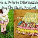 Sew a Fabric Mismatched Ruffle Skirt Project