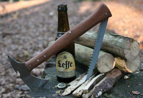 Build a Tomahawk Survival Axe From a Recycled Saw Blade | The