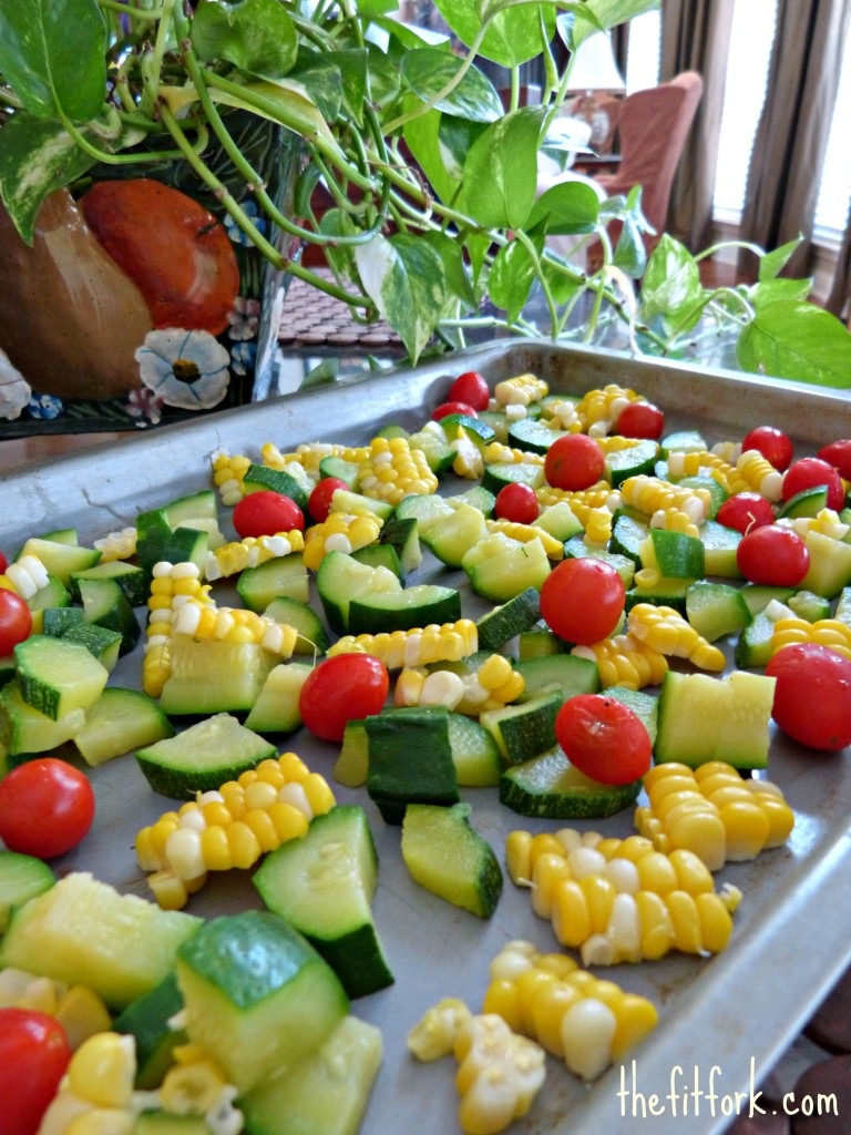 Blanch and Freeze Summer Garden Vegetables