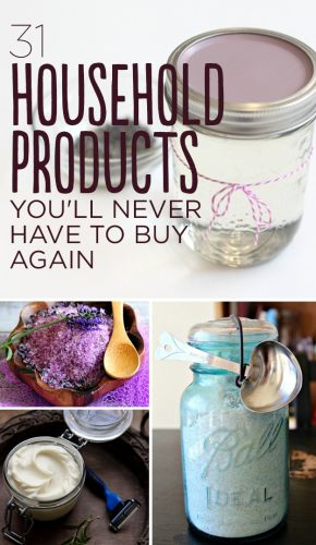 Make Homemade Versions of These 31 Products and Save