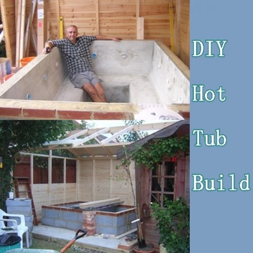 your a how hot own tub build to