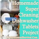 Homemade Super Cleaning Dishwasher Tablets Project