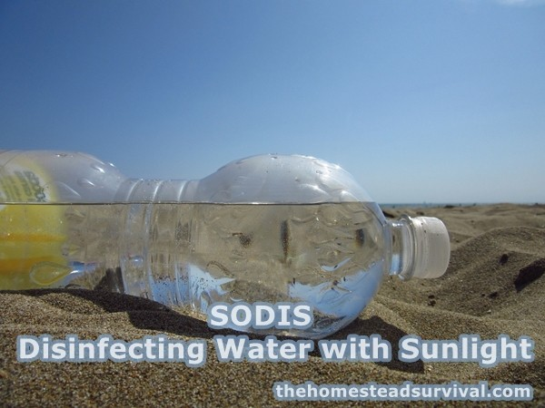 SODIS Disinfecting Water with Sunlight