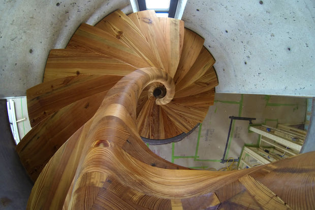 Build Vertical Circle Stairs DIY Project