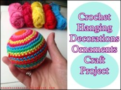 Crochet Hanging Decoration Ornaments Craft Project